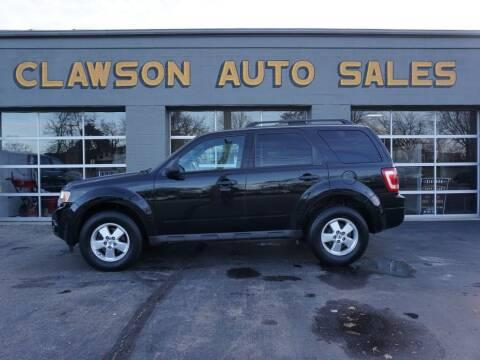 2010 Ford Escape for sale at Clawson Auto Sales in Clawson MI
