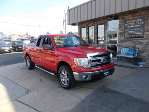 2014 Ford F-150 for sale at Preferred Motor Cars of New Jersey in Keyport NJ