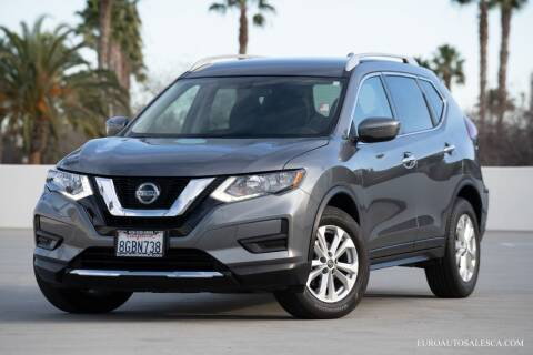 2018 Nissan Rogue for sale at Euro Auto Sales in Santa Clara CA