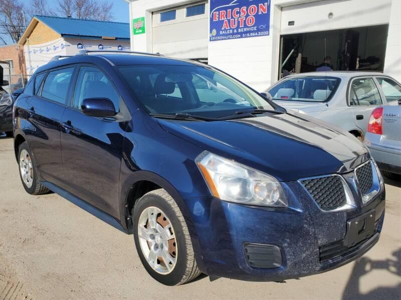 2009 Pontiac Vibe for sale at Ericson Auto in Ankeny IA