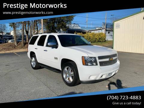 2014 Chevrolet Tahoe for sale at Prestige Motorworks in Concord NC