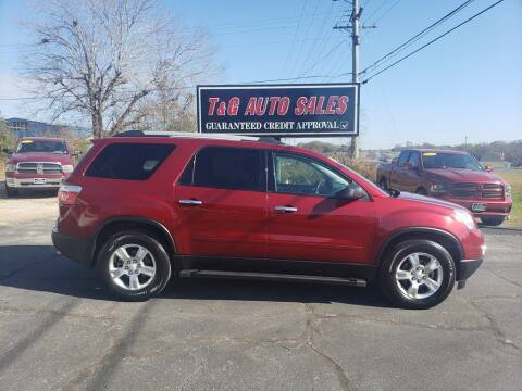 2011 GMC Acadia for sale at T & G Auto Sales in Florence AL