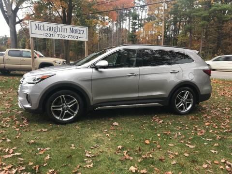 2017 Hyundai Santa Fe for sale at McLaughlin Motorz in North Muskegon MI