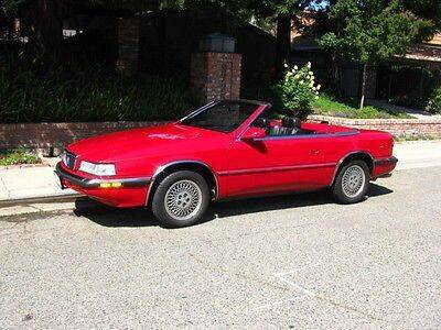 1990 Chrysler TC for sale at Classic Car Deals in Cadillac MI