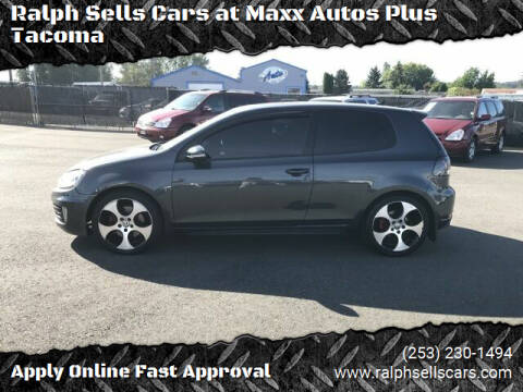 2012 Volkswagen GTI for sale at Ralph Sells Cars at Maxx Autos Plus Tacoma in Tacoma WA
