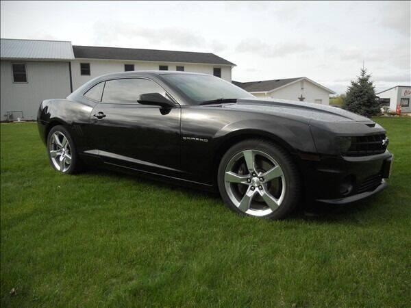 2011 Chevrolet Camaro for sale at OLSON AUTO EXCHANGE LLC in Stoughton WI