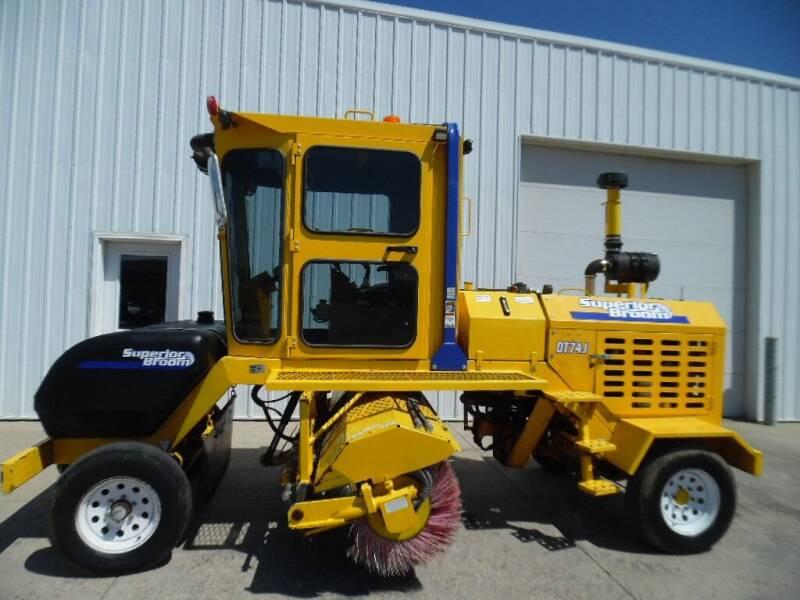 2018 SUPERIOR BROOM DT74J SWEEPER DT74J SWEEPER for sale at KJR Motors LLC in West Fargo ND