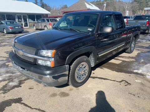 2004 Chevrolet Silverado 1500 for sale at Winner's Circle Auto Sales in Tilton NH