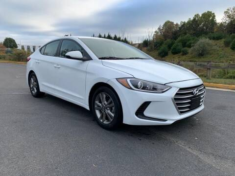 2018 Hyundai Elantra for sale at Dulles Cars in Sterling VA