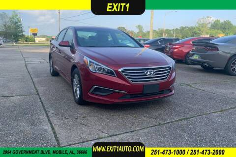 2016 Hyundai Sonata for sale at Exit 1 Auto in Mobile AL