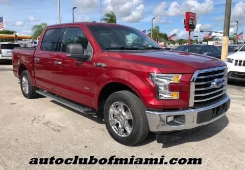 2015 Ford F-150 for sale at AUTO CLUB OF MIAMI, INC in Miami FL