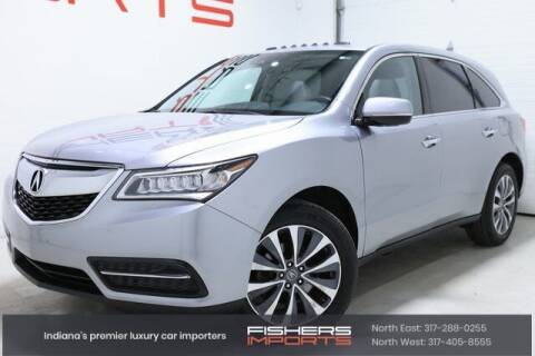 2016 Acura MDX for sale at Fishers Imports in Fishers IN