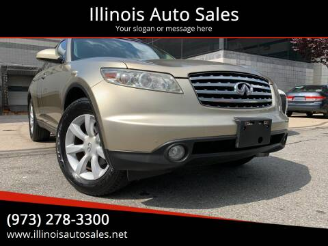 2004 Infiniti FX35 for sale at Illinois Auto Sales in Paterson NJ