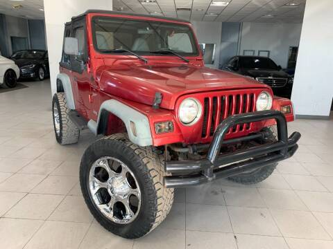 1999 Jeep Wrangler for sale at Auto Mall of Springfield in Springfield IL