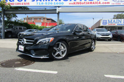 2017 Mercedes-Benz C-Class for sale at MIKEY AUTO INC in Hollis NY