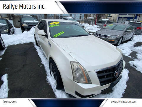 2008 Cadillac CTS for sale at Rallye  Motors inc. in Newark NJ
