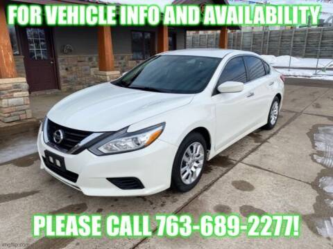 2016 Nissan Altima for sale at Affordable Auto Sales in Cambridge MN