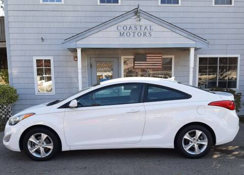 2013 Hyundai Elantra Coupe for sale at Coastal Motors in Buzzards Bay MA