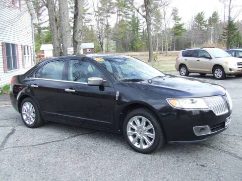 2012 Lincoln MKZ for sale at DUVAL AUTO SALES in Turner ME