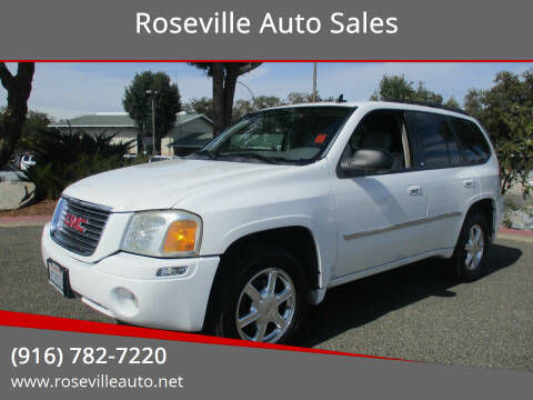 2007 GMC Envoy for sale at Roseville Auto Sales in Roseville CA