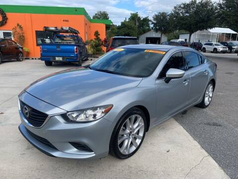 2016 Mazda MAZDA6 for sale at Galaxy Auto Service, Inc. in Orlando FL