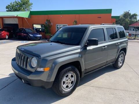 2013 Jeep Patriot for sale at Galaxy Auto Service, Inc. in Orlando FL