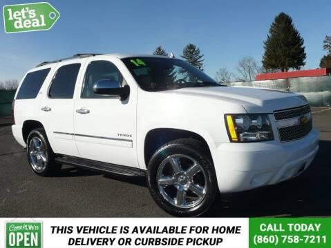 2014 Chevrolet Tahoe for sale at Shamrock Motors in East Windsor CT
