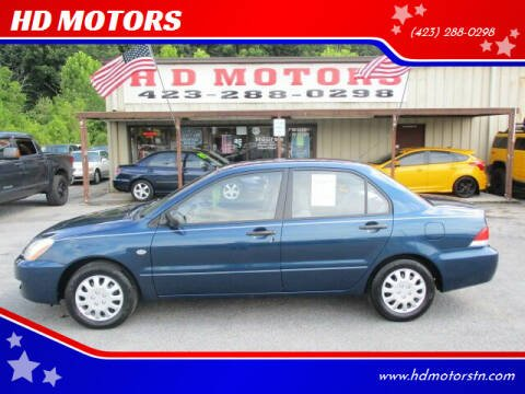 2004 Mitsubishi Lancer for sale at HD MOTORS in Kingsport TN