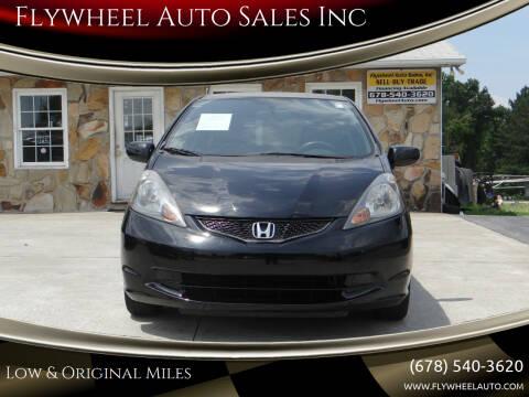 2012 Honda Fit for sale at Flywheel Auto Sales Inc in Woodstock GA
