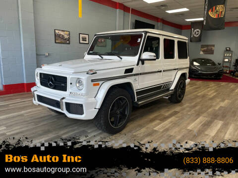 2017 Mercedes-Benz G-Class for sale at Bos Auto Inc-Boston in Jamaica Plain MA