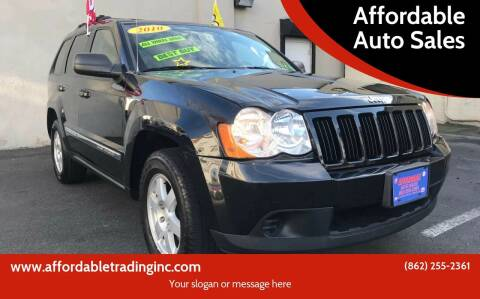 2010 Jeep Grand Cherokee for sale at Affordable Auto Sales in Irvington NJ
