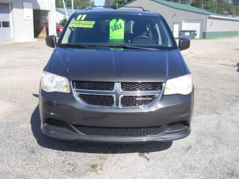 2011 Dodge Grand Caravan for sale at Shaw Motor Sales in Kalkaska MI