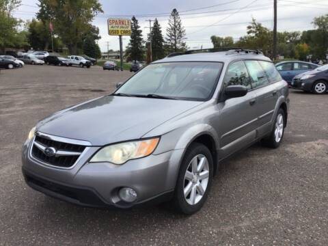 2008 Subaru Outback for sale at Sparkle Auto Sales in Maplewood MN