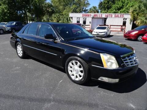 2010 Cadillac DTS for sale at DONNY MILLS AUTO SALES in Largo FL