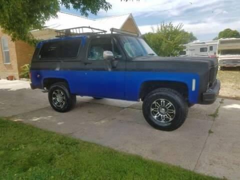 1978 Chevrolet Blazer for sale at Classic Car Deals in Cadillac MI