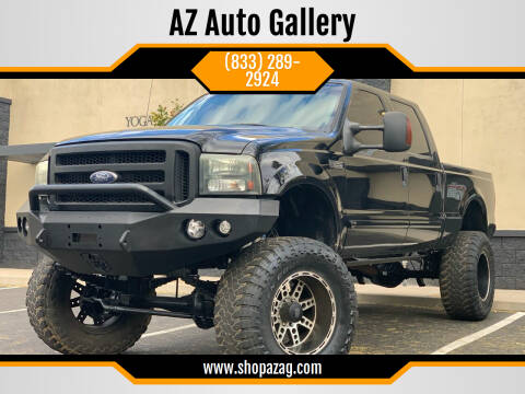 2001 Ford F-250 Super Duty for sale at AZ Auto Gallery in Mesa AZ