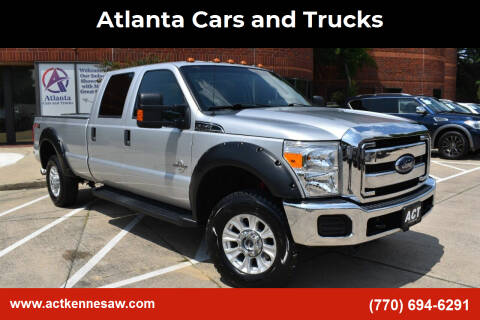 2016 Ford F-350 Super Duty for sale at Atlanta Cars and Trucks in Kennesaw GA