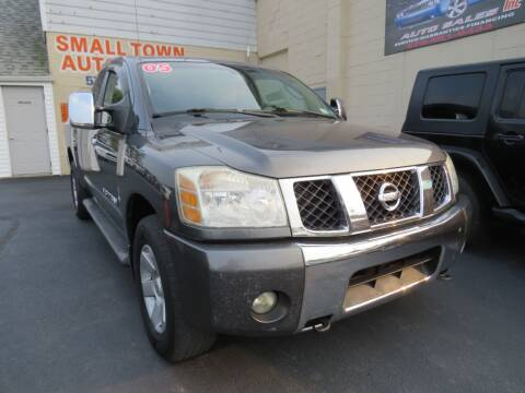 2005 Nissan Titan for sale at Small Town Auto Sales in Hazleton PA
