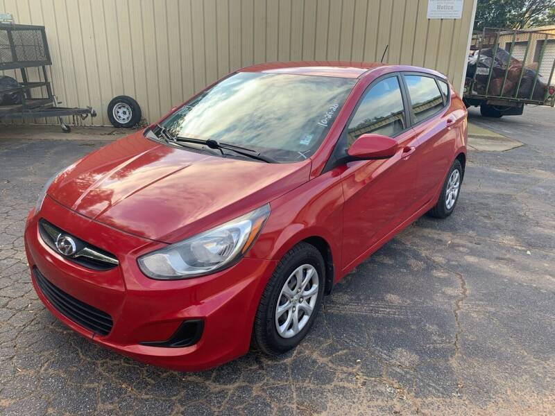 2012 Hyundai Accent for sale at CAR STOP INC in Duluth GA