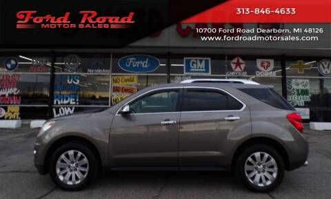 2010 Chevrolet Equinox for sale at Ford Road Motor Sales in Dearborn MI