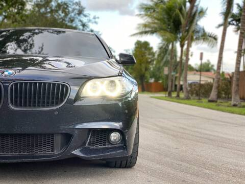 2012 BMW 5 Series for sale at HIGH PERFORMANCE MOTORS in Hollywood FL