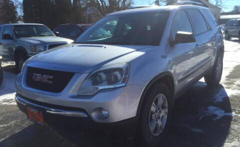 2009 GMC Acadia for sale at Knowlton Motors, Inc. in Freeport IL