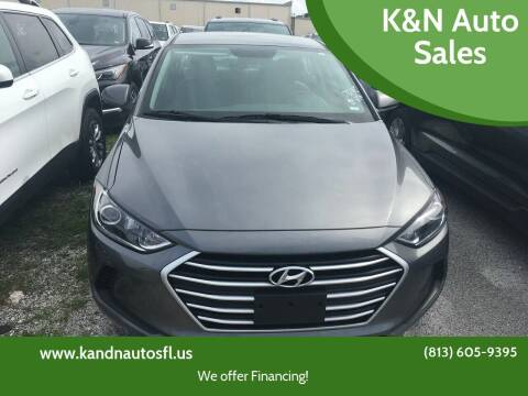 2018 Hyundai Elantra for sale at K&N Auto Sales in Tampa FL