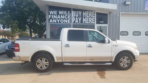 2008 Ford F-150 for sale at STERLING MOTORS in Watertown SD