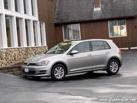 2015 Volkswagen Golf for sale at Cupples Car Company in Belmont NH