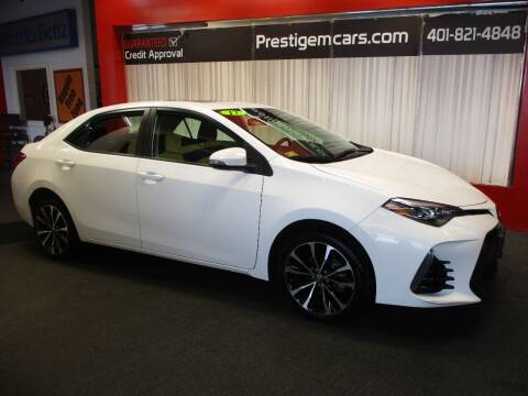 2017 Toyota Corolla for sale at Prestige Motorcars in Warwick RI