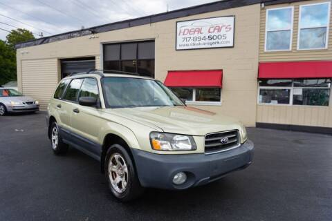 2004 Subaru Forester for sale at I-Deal Cars LLC in York PA