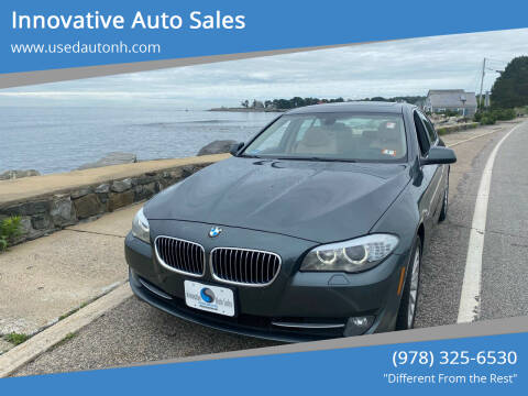 2013 BMW 5 Series for sale at Innovative Auto Sales in North Hampton NH