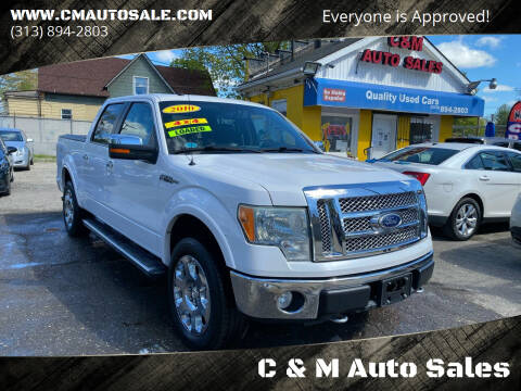 2010 Ford F-150 for sale at C & M Auto Sales in Detroit MI