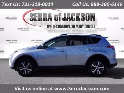 2018 Toyota RAV4 for sale at Serra Of Jackson in Jackson TN